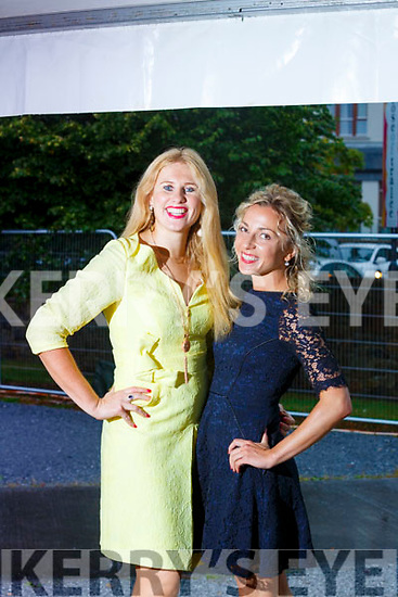 Susane Creen(Ballyheige) and Natallia Charnetskaya(London)