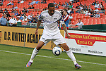 05 May 2010: Kansas City's Ryan Smith (ENG). DC United defeated the Kansas City Wizards 2-1 at RFK Stadium in Washington, DC in a regular season Major League Soccer game.