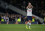 Tottenham's Toby Alderweireld applauds the crowd after the Premier League match at the Tottenham Hotspur Stadium, London. Picture date: 7th December 2019. Picture credit should read: Paul Terry/Sportimage