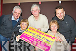 Launching the 25th annual Kerry Drama festival whivh will be held in the Ivy Leaf theatre Castleisland from March 2nd to 10th was l-r: Joe Martin, Jean Horgan, Jerome Stack, Marie Daly and Tommy Martin..