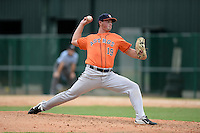 Houston Astros pitcher John Gatlin (19) during an Instructional League game against the Atlanta Braves on September 22, 2014 at the ESPN Wide World of Sports Complex in Kissimmee, Florida.  (Mike Janes/Four Seam Images)