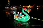 The holiday lit boat parade in Sun City, Arizona, an age-restricted city of more than 40,000 retirees, December 2011.