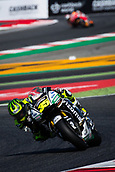 June 10th 2017,  Barcelona Circuit, Montmelo, Catalunya, Spain; MotoGP Grand Prix of Catalunya, qualifying day; Cal Crutchlow of LCR Honda Team testing the new chicane of the circuit