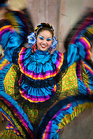 Butterfly dancer<br /> Mazatlan, Mexico 2009.
