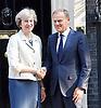 Donald Tusk meets Theresa May in Downing St 8th September  2016