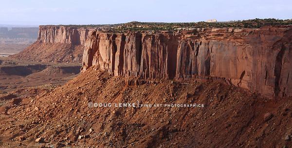 Mesas at the Orange Cliffs Overlook, Canyonlands National Park, Utah, USA