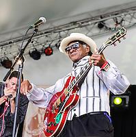 Little Freddie King performs at Voodoo Fest 2012 in New Orleans, LA.