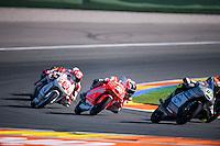 VALENCIA, SPAIN - NOVEMBER 8: Juanfran Guevara during Valencia MotoGP 2015 at Ricardo Tormo Circuit on November 8, 2015 in Valencia, Spain