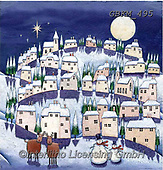 Kate, CHRISTMAS LANDSCAPES, WEIHNACHTEN WINTERLANDSCHAFTEN, NAVIDAD PAISAJES DE INVIERNO, paintings+++++Christmas Page 14,GBKM495,#xl#