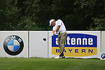 Thomas Levet (FRA) in action on the 12th tee during Day 1 of the BMW International Open at Golf Club Munchen Eichenried, Germany, 23rd June 2011 (Photo Eoin Clarke/www.golffile.ie)