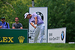 Matteo Manassero (ITA) tees off on the 3rd tee during Day 3 of the BMW Italian Open at Royal Park I Roveri, Turin, Italy, 11th June 2011 (Photo Eoin Clarke/Golffile 2011)