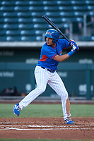 AZL Cubs 2 Fidel Mejia (30) at bat during an Arizona League game against the AZL Dbacks on June 25, 2019 at Sloan Park in Mesa, Arizona. AZL Cubs 2 defeated the AZL Dbacks 4-0. (Zachary Lucy/Four Seam Images)