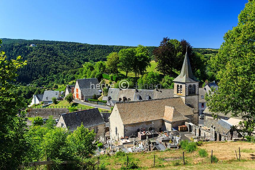 France, Puy-de-Dôme (63), Murat-le-Quaire // France, Puy de Dome, Murat le Quaire