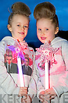 Aoife and Caoimhe Cronin, pictured at the Jedward Concert in the INEC, Killarney on Saturday night.