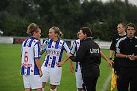VOETBAL: HEERENVEEN: 02-09-2014, Sportpark Skoatterwâld, Damesvoetbal SC Heerenveen - ADO Den Haag, uitslag 0-3, ©foto Martin de Jong