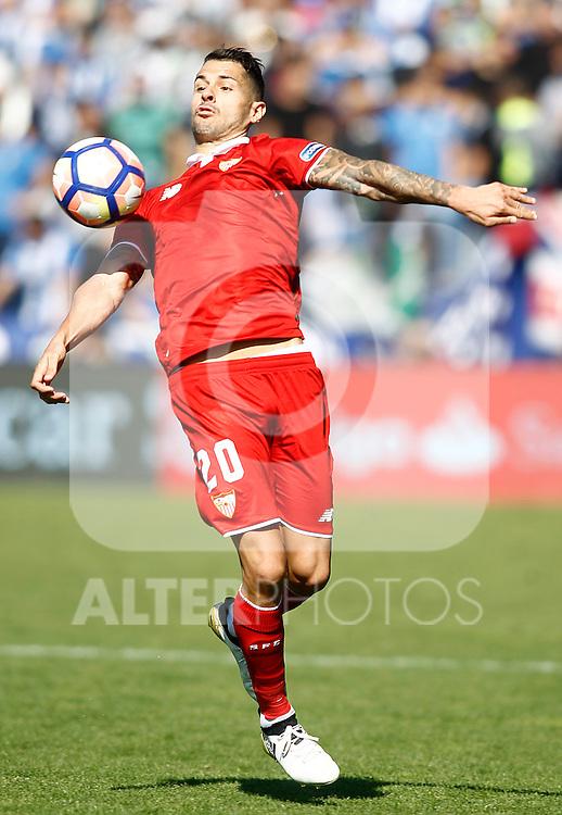 Sevilla FC's Vitolo during La Liga match. October 15,2016. (ALTERPHOTOS/Acero)