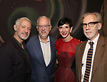 Scott Frankel, Doug Wright, Amy Fine and Michael Korie attend the DGf: Salons - 'War Paint'  at Core club on September 26, 2017 in New York City.