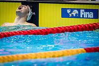 Kristof Milak of Hungary celebates after winning and make the new world record in men's 200m butterfly final during 18th Fina World Championships Gwangju 2019 at Nambu University Municipal Aquatics Centre, Gwangju, on 24  July 2019, Korea.  Photo by : Ike Li / Prezz Images