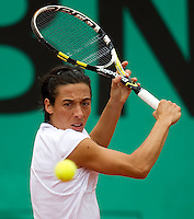 Francessca Schiavone (ITA) (17) against Maria Kirilenko (RUS) (30)  in the third round of the women's singles. Francessca Schiavone beat Maria Kirilenko 6-4 6-4..Tennis - French Open - Day 8 - Sun 30 May 2010 - Roland Garros - Paris - France..© FREY - AMN Images, 1st Floor, Barry House, 20-22 Worple Road, London. SW19 4DH - Tel: +44 (0) 208 947 0117 - contact@advantagemedianet.com - www.photoshelter.com/c/amnimages
