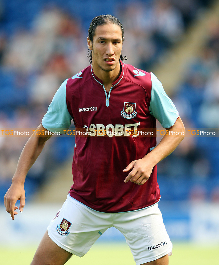 West Ham trailist Bilel Mohsni - Colchester United vs West Ham United, Pre-season Friendly at The Weston Homes Community Stadium - 21/07/12 - MANDATORY CREDIT: Rob Newell/TGSPHOTO - Self billing applies where appropriate - 0845 094 6026 - contact@tgsphoto.co.uk - NO UNPAID USE..