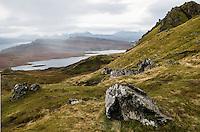 The Storr and Rassay, Isle of Skye, Scotland