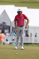 Tommy Fleetwood (ENG) on the 8th green during Saturday's Round 3 of the 117th U.S. Open Championship 2017 held at Erin Hills, Erin, Wisconsin, USA. 17th June 2017.<br /> Picture: Eoin Clarke | Golffile<br /> <br /> <br /> All photos usage must carry mandatory copyright credit (&copy; Golffile | Eoin Clarke)