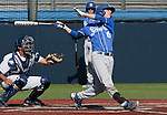 March 10, 2012:   UC Santa Barbara Gauchos Brandon Trinkwon swings against the Nevada Wolf Pack during their NCAA baseball game played at Peccole Park on Saturday afternoon in Reno, Nevada.