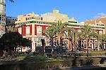 Casa Ferrera built 1900 architect Trinidad Cuartara Cassinello,  Almeria, Spain - Parque de Nicolás Salmerón