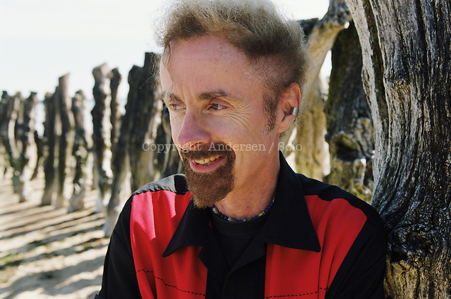 American author T. C. Boyle attending book fair in Saint Malo, France.