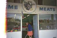 PRIME MEATS store, Southland, New Zealand.