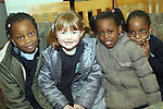 Angela, Aimee, Ann Sarah and Ronke from Marymount NS at the World Book Day Workshop in The Library...Photo NEWSFILE/Jenny Matthews.(Photo credit should read Jenny Matthews/NEWSFILE)....This Picture has been sent you under the condtions enclosed by:.Newsfile Ltd..The Studio,.Millmount Abbey,.Drogheda,.Co Meath..Ireland..Tel: +353(0)41-9871240.Fax: +353(0)41-9871260.GSM: +353(0)86-2500958.email: pictures@newsfile.ie.www.newsfile.ie.FTP: 193.120.102.198.