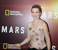 NEW YORK, NY-October 26: Anamaria Marinca at National Geographic Channel presents the Epic Six-Part Event Series MARS premiere at the School of Visual Arts  in New York.October 26, 2016. Credit:RW/MediaPunch