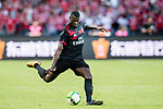 AC Milan Forward MBaye Niang in action during the 2017 International Champions Cup China  match between FC Bayern and AC Milan at Universiade Sports Centre Stadium on July 22, 2017 in Shenzhen, China. Photo by Marcio Rodrigo Machado / Power Sport Images