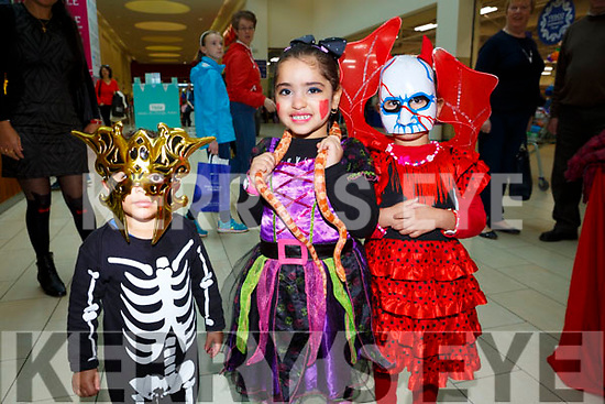 At the Manor West: Halloween Family Fun Day on Satuday were Karaz Soliman Alma Elzeibeak and Nadeen Soliman