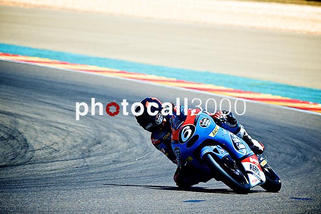 CEV Repsol en Motorland / Aragón <br /> a 07/06/2014 <br /> En la foto :<br /> Moto3<br /> maria herrera<br />RM/PHOTOCALL3000