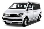 2018 Volkswagen California Ocean 4 Door Passenger Van angular front stock photos of front three quarter view