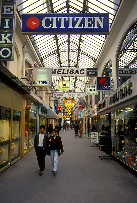 Shopping mall, city of Reims, Champagne Ardenne, France, Europe.