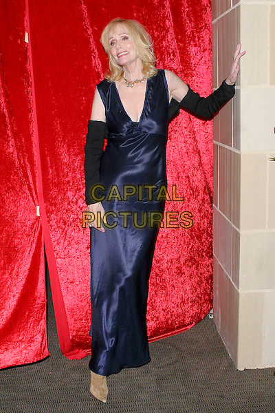 "SALLY KELLERMAN.""What A Pair! 3""  A celebrity concert to benefit the Revlon/UCLA Breast Center held at UCLA's Royce Hall, Los Angeles, CA, USA, 8 April 2005..full length long blue dress sleeves .Ref: ADM.www.capitalpictures.com.sales@capitalpictures.com.©Jacqui Wong/AdMedia/Capital Pictures."