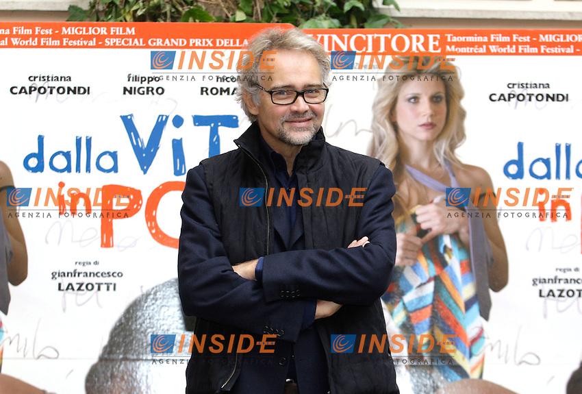 GIANFRANCESCO LAZOTTI<br /> Roma 15/11/2010 Film Dalla vita in poi - Photocall<br /> Photo Zucchi Insidefoto