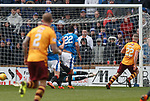 31.3.2018: Motherwell v Rangers: <br /> Alan Campbell scores for Motherwell