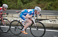 Frederik Backaert (BEL/Wanty-Groupe Gobert) descending<br /> <br /> Tour of Turkey 2014<br /> stage 4