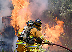 Vernon Skid Steer Fire