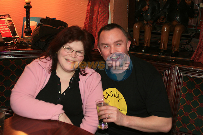 John and Fidelma Maher in The Trinity Arms...Photo NEWSFILE/Jenny Matthews.(Photo credit should read Jenny Matthews/NEWSFILE)....This Picture has been sent you under the condtions enclosed by:.Newsfile Ltd..The Studio,.Millmount Abbey,.Drogheda,.Co Meath..Ireland..Tel: +353(0)41-9871240.Fax: +353(0)41-9871260.GSM: +353(0)86-2500958.email: pictures@newsfile.ie.www.newsfile.ie.FTP: 193.120.102.198.