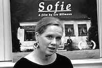 Liv Ullman, actress debuts as a director of Sophie at Coolidge Corner Movie House Brookline, Massachusetts June 29,1993