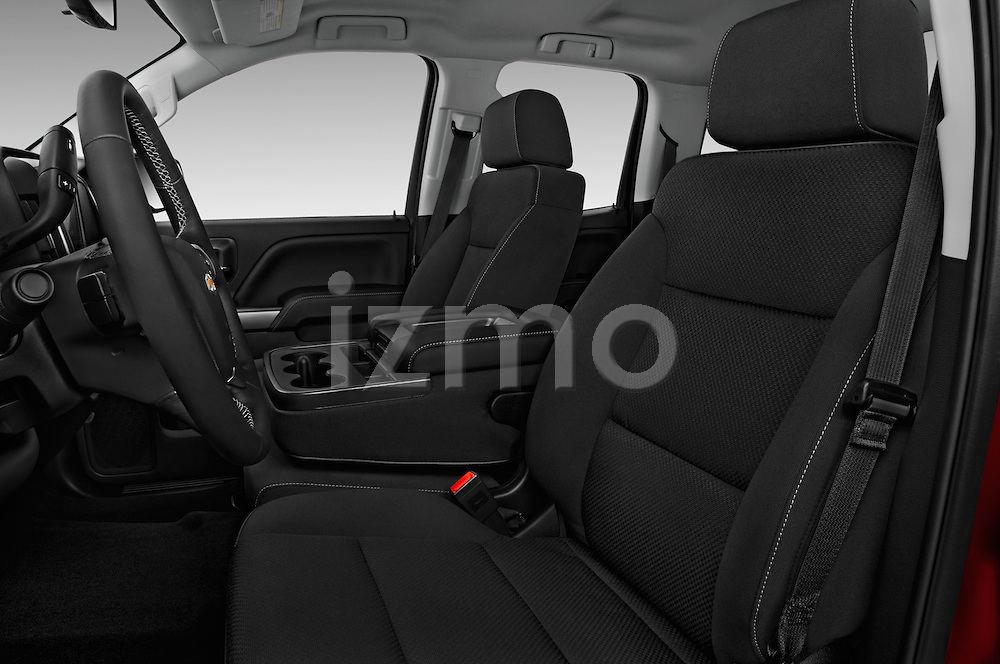 Front seat view of 2016 Chevrolet Silverado-1500 LT-Double-Cab-Std-Box 4 Door Pick-up Front Seat  car photos