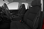 Front seat view of 2018 Chevrolet Silverado-1500 LT-Double-Cab-Std-Box 4 Door Pick-up Front Seat  car photos