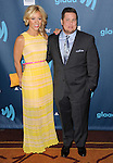 """Chaz Bono and date at the """"24th Annual GLAAD Media Awards"""" held at the JW Marriott Hotel in Los Angeles, CA. April 20, 2013."""