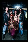 Nov 23, 1987: FAITH NO MORE - Photosession in Chicago IL USA