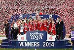 Aberdeen lift the League Cup