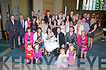 JOYOUS DAY: As joyous day in St Brendans Church, Tralee on Saturday as Callum-Eoghan O'Shea  son of Deirdre McMahon and Mike O'Shea Tralee and afterwards all were invited with their families and friend for a meal to the Earl of Desmond Tralee...